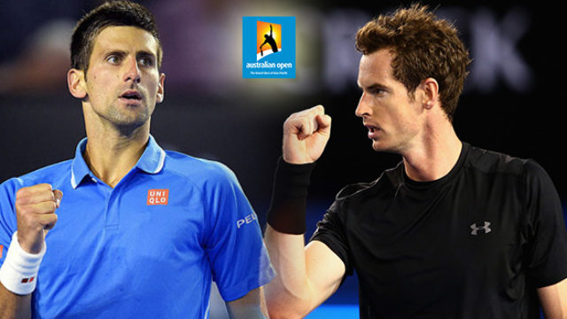 novak djokovic vs andy murray australian open online prenos