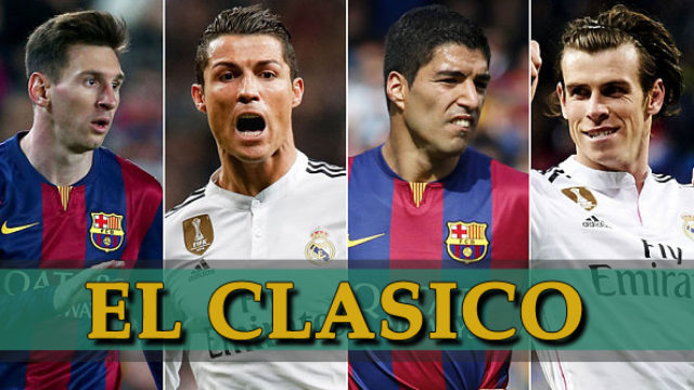 El Clasico: Barcelona vs Real Madrid (VIDEO)
