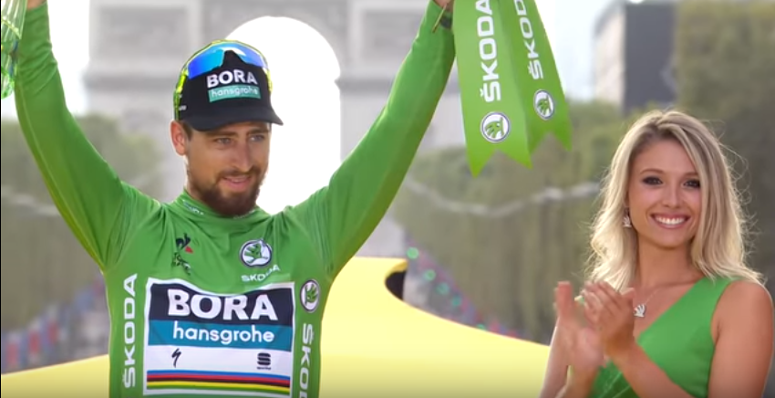 Tour de France 2018 - Peter Sagan zelený dres